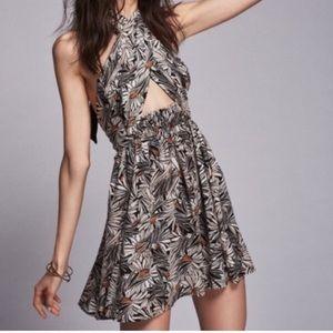 Free People Convertible Sunflower Dress Medium